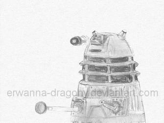 Dalek by Erwanna-Dragony