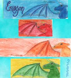 Inheritance dragons by Erwanna-Dragony