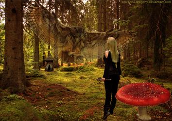 Enchanted Forest by Erwanna-Dragony