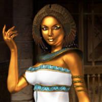 Walk like an Egyptian by arien