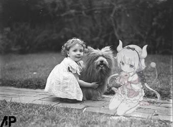 Kanna and Friends by deviantpringle