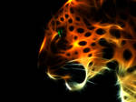 Fractalius leopard by megaossa