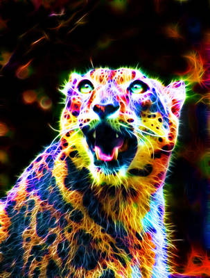 Colorful Leopard VII by megaossa