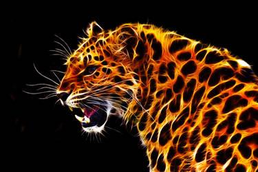 Fractalius Amur Leopard by megaossa