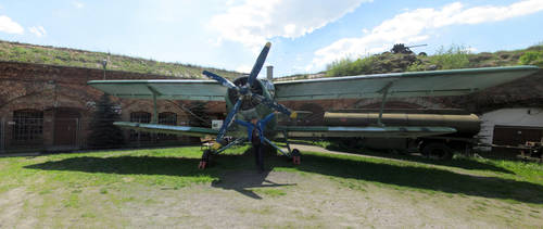 Biplane and my by megaossa