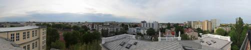 Widok z  Jagielonki w Plocku by megaossa