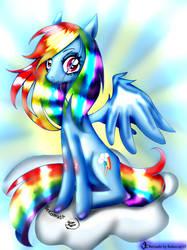 Rainbow Dash (Holographic) by RoboCop17
