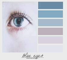 Blue eyes. {Palette} by MiliDirectionerJB
