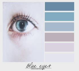Blue eyes. {Palette} by MiliDirectionerJB
