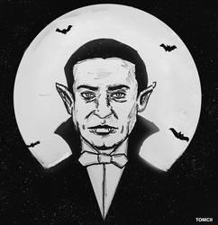 Inktober Day 14: Vampire by Tom-Cii