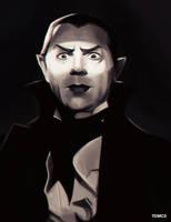 Inktober - Dracula by Tom-Cii