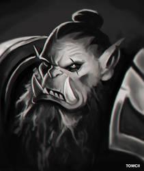 Inktober - Orc by Tom-Cii