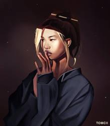 Portrait by Tom-Cii