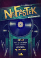 Nefastek_Flyer by ArnoGraphik