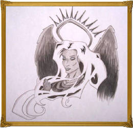 Praying Angel by Lunasolstice