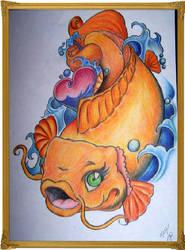 Koi Fish by Lunasolstice