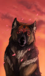 The Sunset of Magic by wolf-minori
