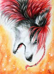 Eleweth ACEO by wolf-minori