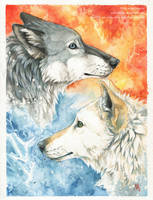By Fire and Water by wolf-minori