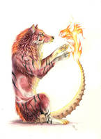 don't let children play with fire by wolf-minori
