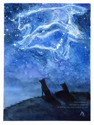 Stargazers by wolf-minori
