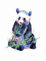 Giant panda -100animals100days by wolf-minori