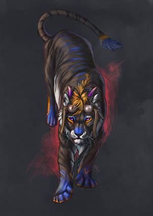 Tzreil by wolf-minori