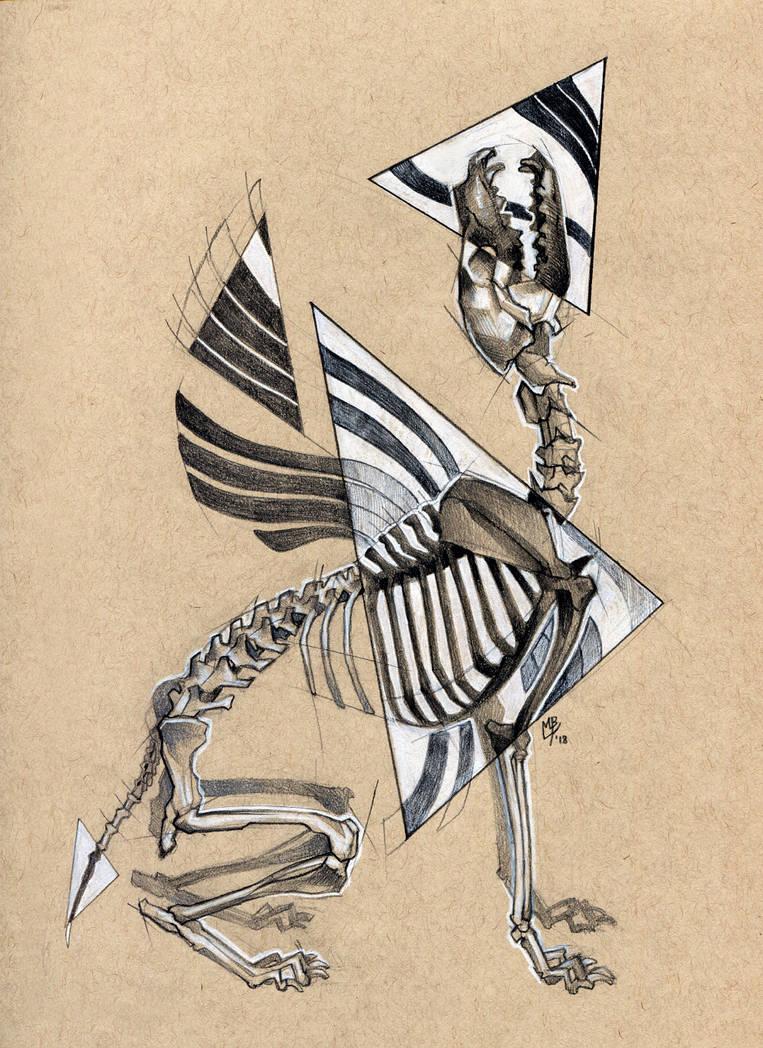 Skelevolf by wolf-minori