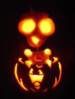 Gir Pumpkin by anneifer