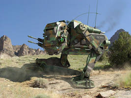 U.S. MW-81 Bulldog prototype by Cybergooch
