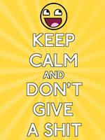 keep calm by apixelateddream