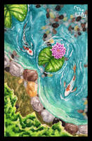Koi Pond by TheUnconfidentArtist