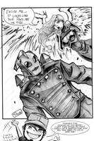 One Sketch 25: Rocketeer by Shono