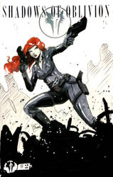 Two Sketch 39: Black Widow by Shono
