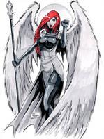 MGA Con Sketch: WarAngel by Shono