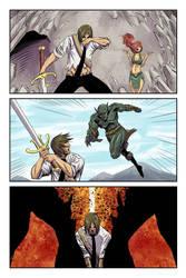 Dalrak the Mighty #1 p12 by Shono