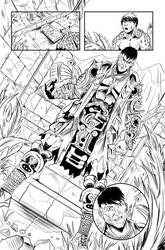 Sheena: Queen of the Jungle p22 by Shono