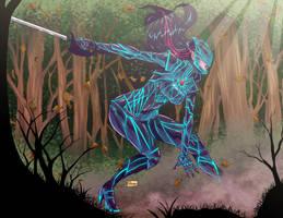 COMMISSION: Kerri Landra Color by Shono