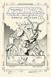 Dalrak the Mighty #2: Pencil Edition by Shono