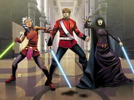 Commission: Jedi sniper by Shono