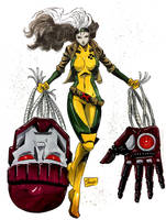 DRAGONCON 2017 COMMISSIONS: 90's Rogue by Shono