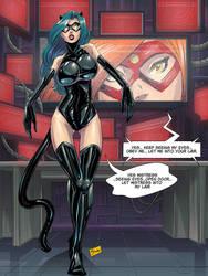 COMMISSION: Hypnotized Villain by Shono