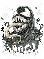 Animazement con sketch: Venom by Shono