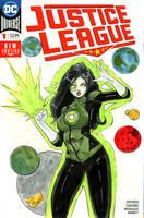 SuperCon 2018 Sketches: Jessica Cruz Green Lantern by Shono