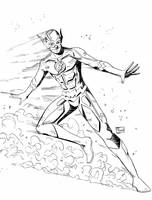 SuperCon 2018 Sketches: The Flash by Shono