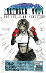 AWA 2018 sketches: Gear Cosplay Tifa Lockhart by Shono