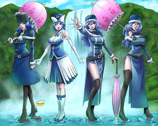 Commission: Juvia Forms by Shono