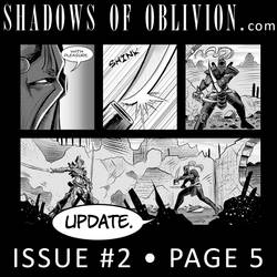 Shadows of Oblivion #2 - Page 5 Update! by Shono