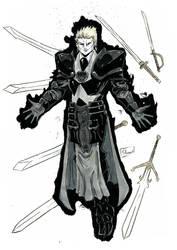 YamaCon 2018 Sketch: Gilgamesh Black Lantern by Shono