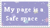 Safe Place Stamp [Read description] by painttoolsy